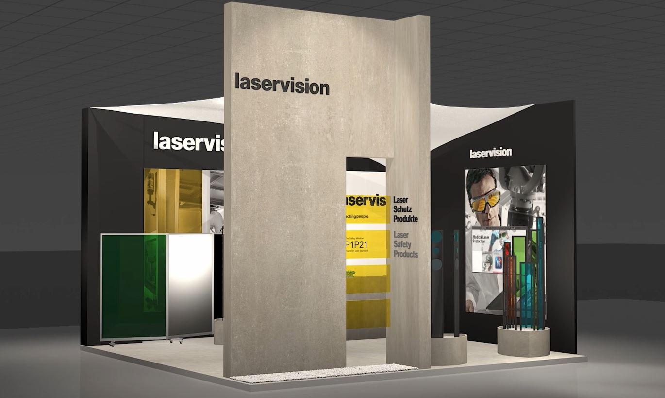 laservision virtual exhibition booth